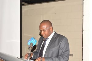 Prof. Japhet Micheni Ntiba at the launch of the Agriculture Chapter of the Coalition for Transformation.