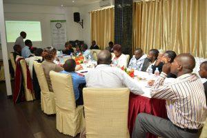 KAAA SMEs undergoing training
