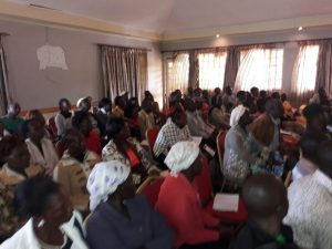 A session of the Kabarnet meeting